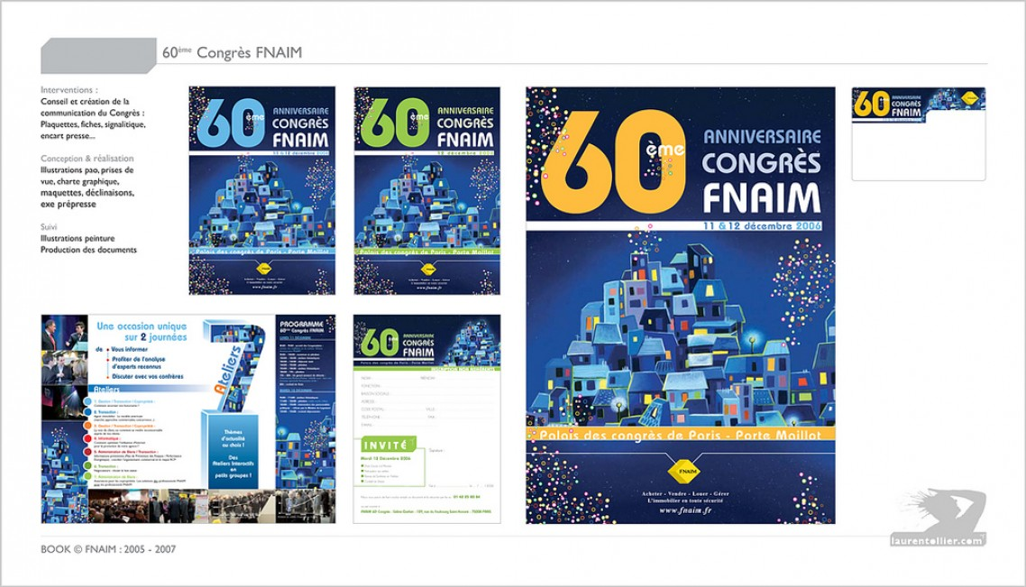 60e Congrès FNAIM - Print évenèmentiel