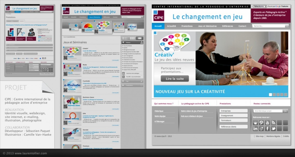 CIPE - site web