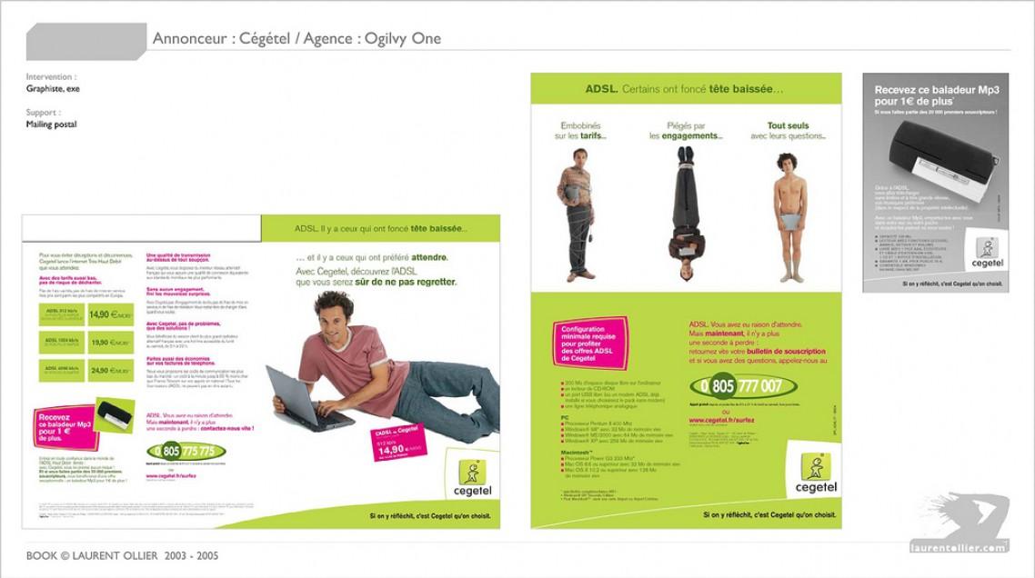 Cegetel - Mailling promo