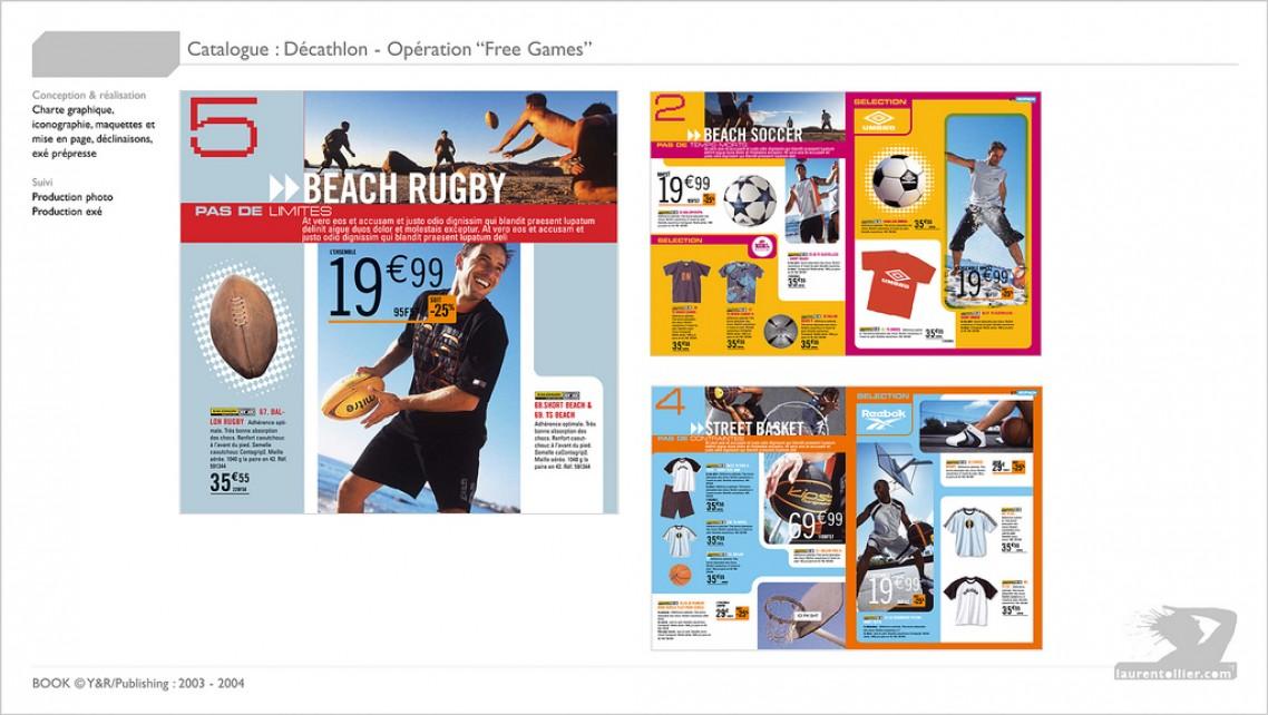 Décathlon - Catalogue free games