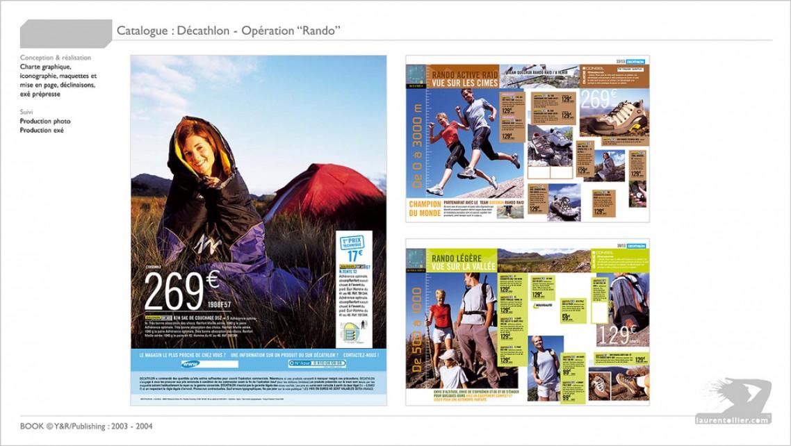 Décathlon - Catalogue rando