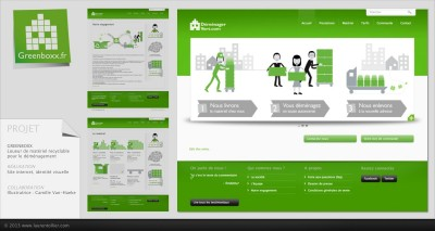 Greenboxx - Site web