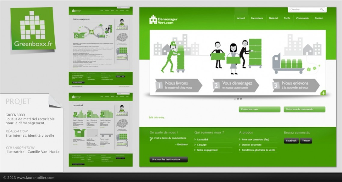 Greenboxx - Site web