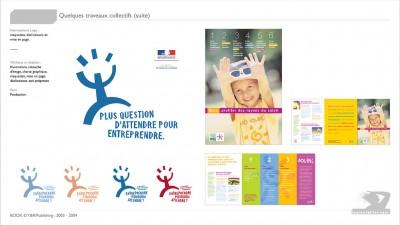 INPES - Print : Ministère du travail - identité visuelle