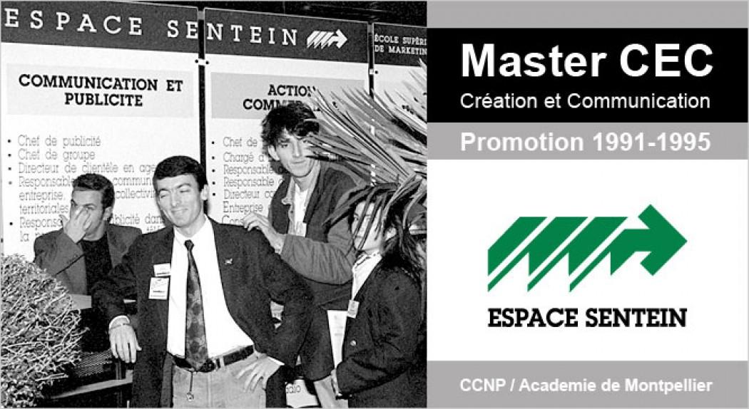 Master CEC : Espace Sentein Montpellier