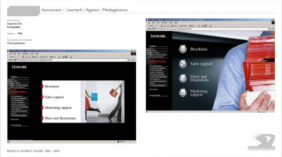 Lexmark - Interface web
