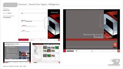 Renault Truks - Charte graphique - interface multimédia
