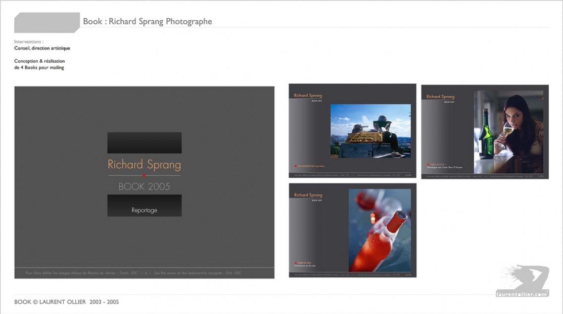 Richard Sprang - Book d'artiste photographe